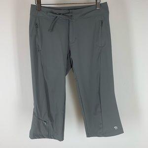 Mountain hardware pants hiking camping cropped